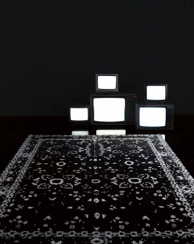 Il tappeto persiano rivisto e corretto unlimited - Tappeto bianco nero ...