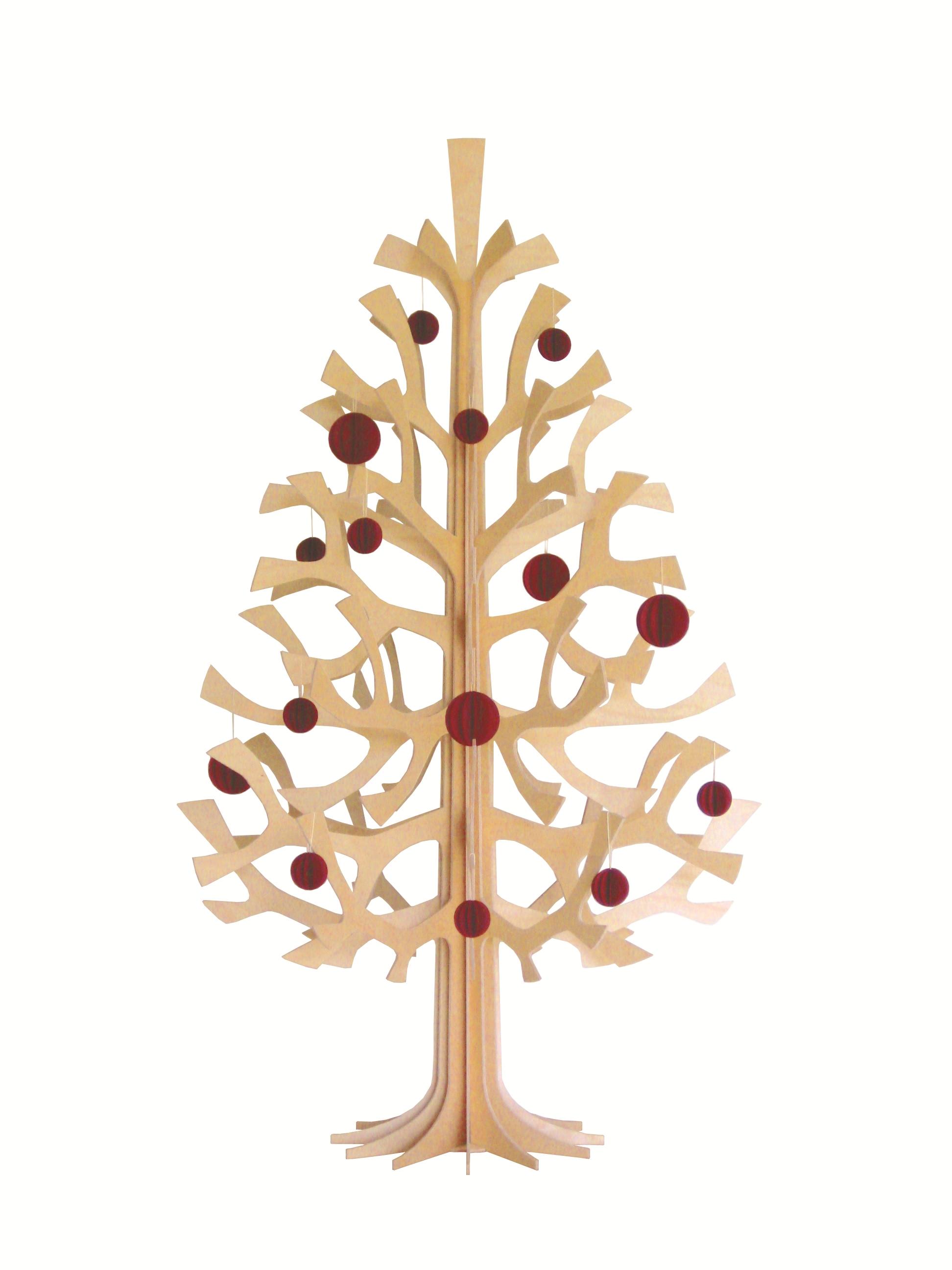 L albero di natale montabile unlimited for Albero di natale di legno